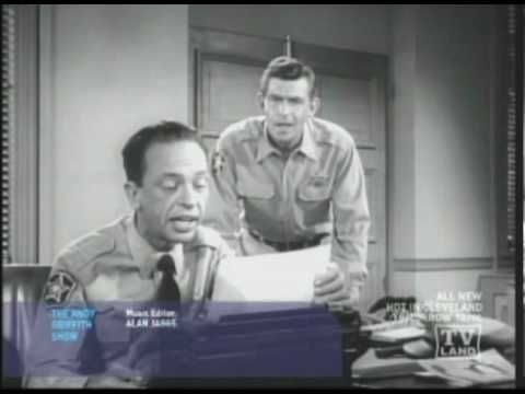 Barney Fife Singing What Hero He Is (funny)