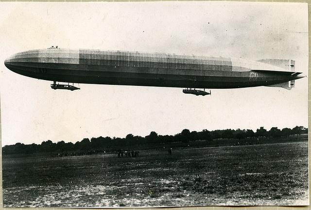 The German Naval Zeppelin force was responsible most of the strategic bombings of England during WW1.