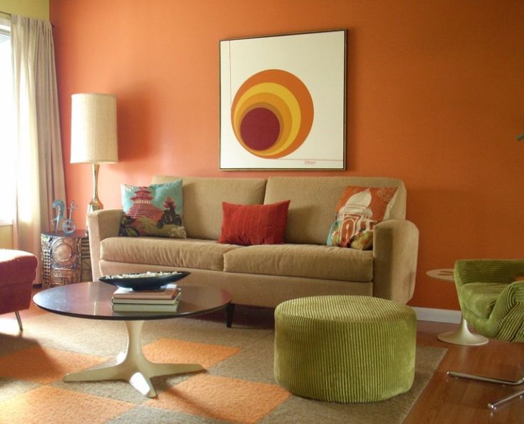 Orange Paint Colors For Living Room 13 best living room divider design ideas images on pinterest