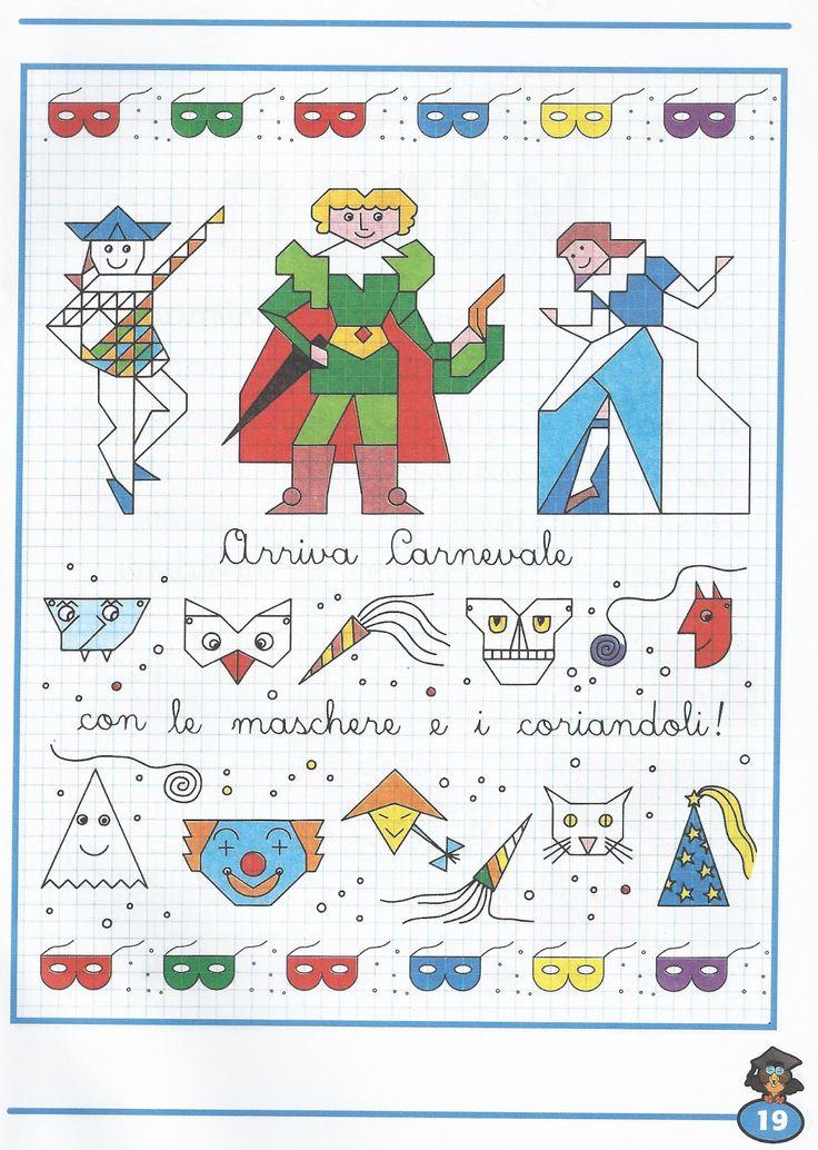 Schede didattiche per la scuola primaria, giochi, disegni da colorare, enigmistica,quiz, sculture di carta, attivita' educative e didattiche,