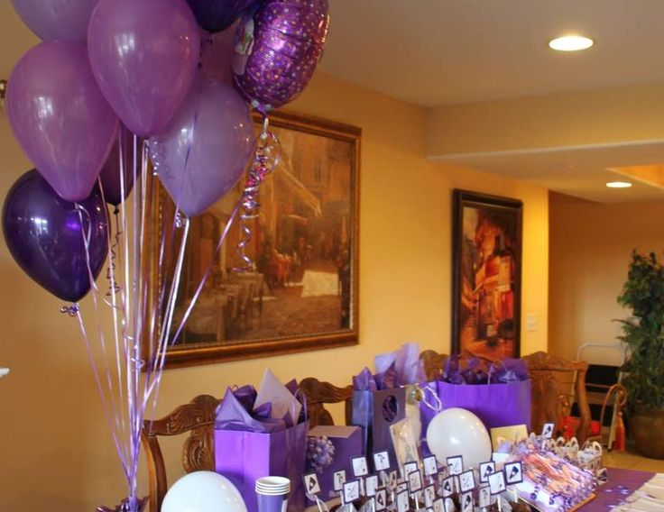 "Cheerleading / Birthday ""Purple Cheerleading 15th Birthday"" 