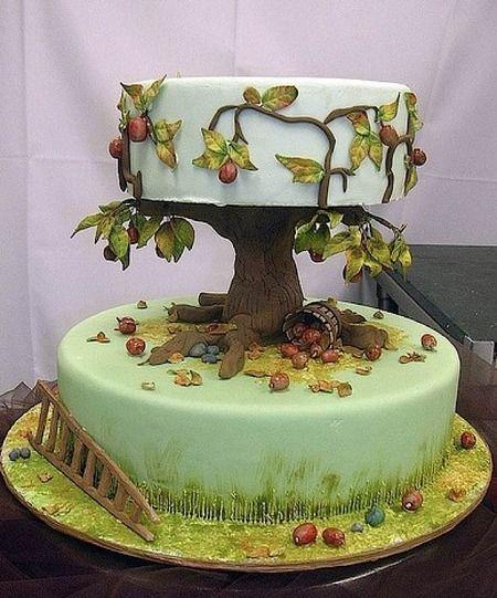 Best 25 Tree Cakes Ideas On Pinterest