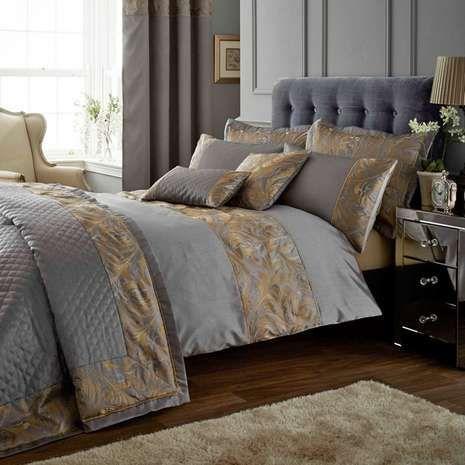 Pewter Grayson Bedspread