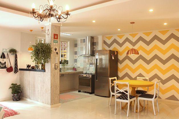 decoracao de cozinha hippie : decoracao de cozinha hippie: para decorar com papel de parede ester rios organizando e decorando
