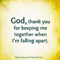 Thank you, God.                                                                                                                                                     More