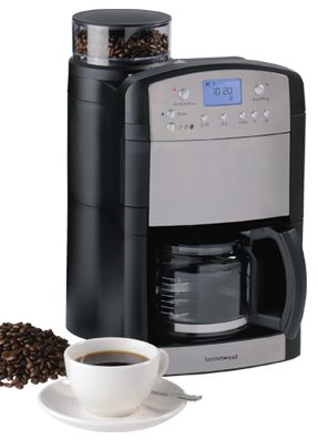 S.A's first programable grind and brew coffee machine... café fresh!
