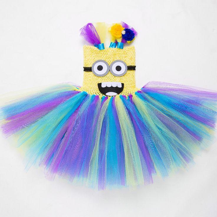 $20.60 (Buy here: https://alitems.com/g/1e8d114494ebda23ff8b16525dc3e8/?i=5&ulp=https%3A%2F%2Fwww.aliexpress.com%2Fitem%2F2015-The-new-Cute-Minion-Girl-Dress-Peach-Minion-Cosplay-Tutu-Dress-Halloween-Costume-Kids-Tutu%2F32512791333.html ) 2016 The new Cute Minion Girl Dress Peach Minion Cosplay Tutu Dress Halloween Costume Kids Tutu Dress Knee blue dress for just $20.60