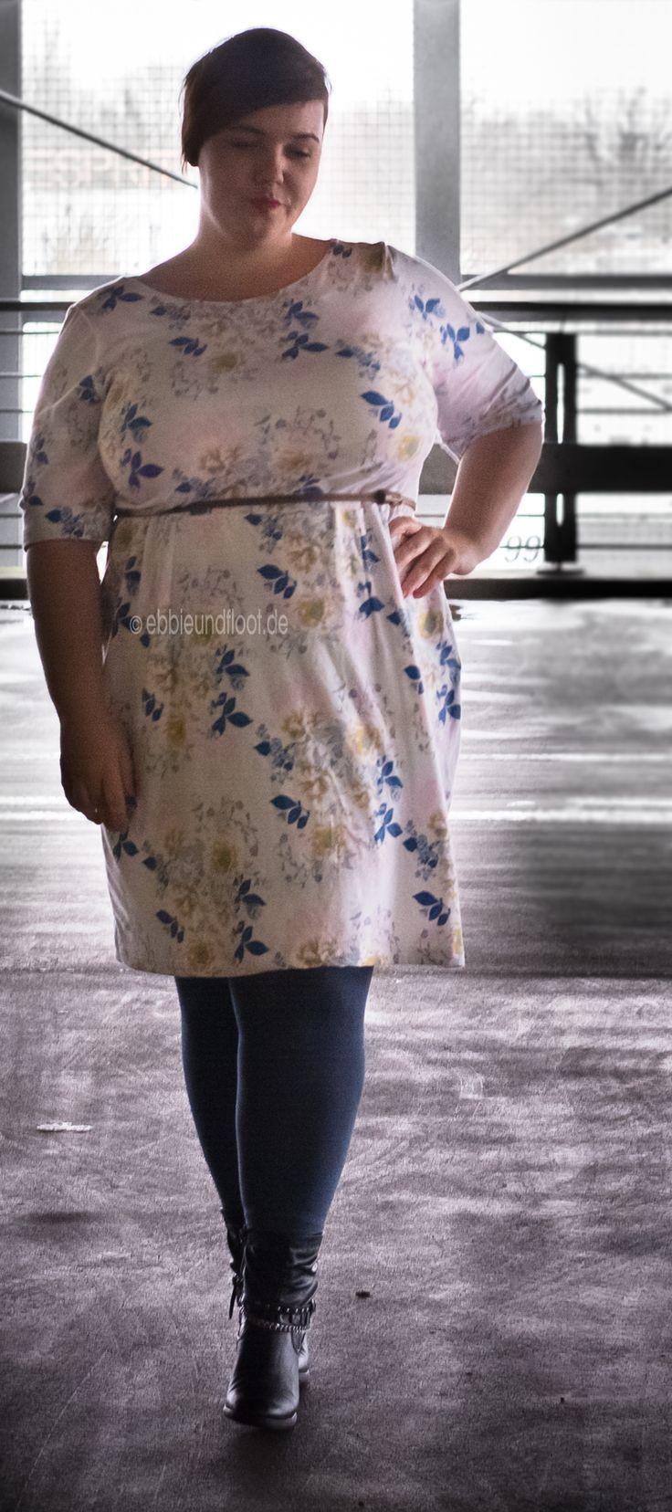 Schnittmuster für Mollige: Tolles Kleid für gro…