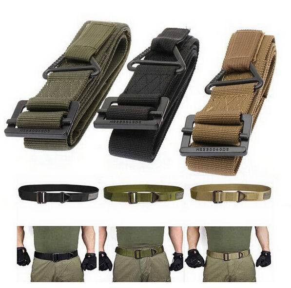 48-Inch Canvas Military Tactical Belt | Opovoo Online Shop
