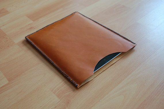 Leather iPad Air 2 case iPad Air 2 sleeve by SANTIbagsandcases