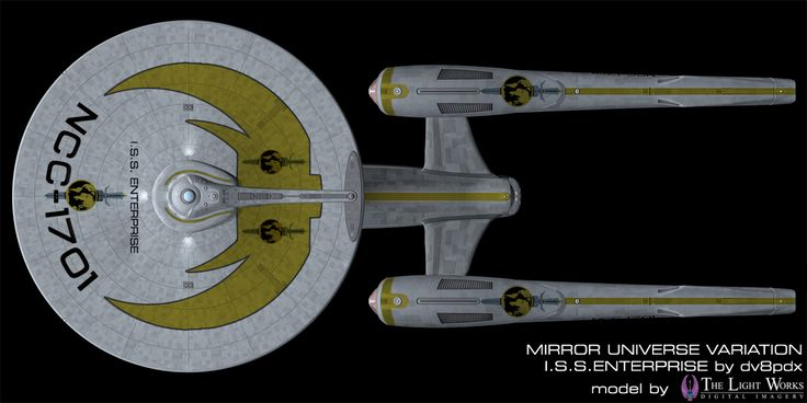 Mirror Universe Style Abrams Enterprise Star Trek S Art