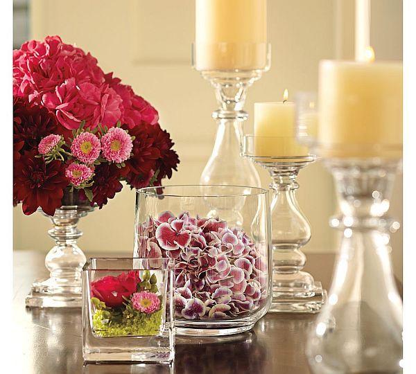 Love The Square Glass Vase.