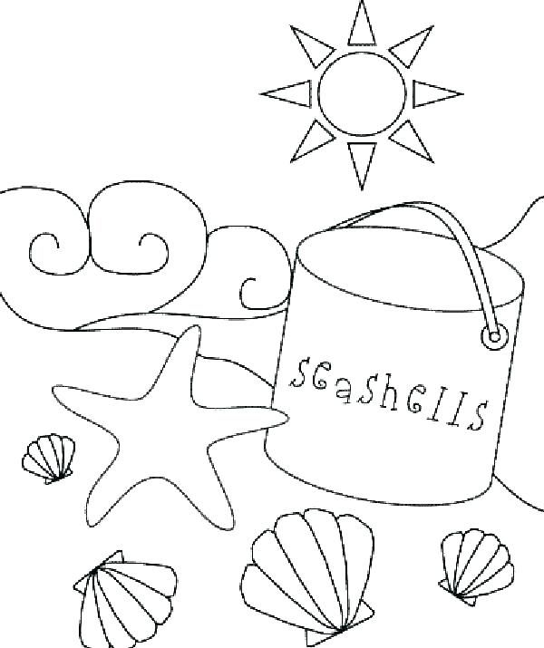 Coloring Pages Of Beach Free Ball Printable Colouring Childrens Beach Coloring Pages Summer Coloring Pages Kids Printable Coloring Pages