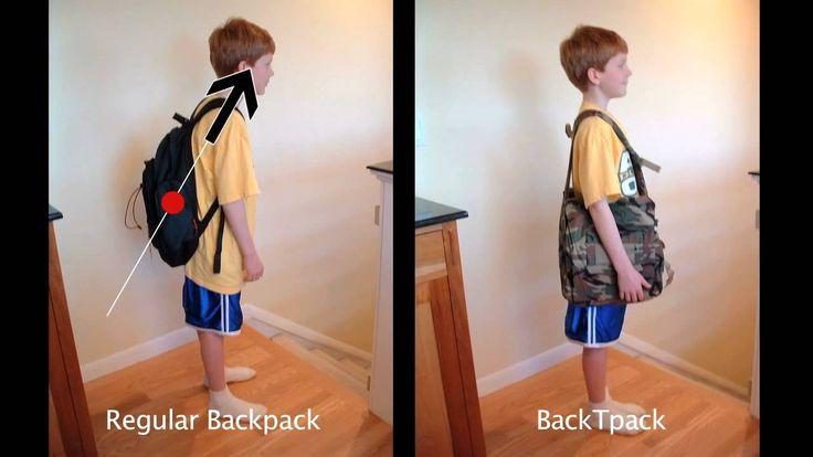 BackTpack da Vinci Award Entry 2010 - The Ergonomic Backpack
