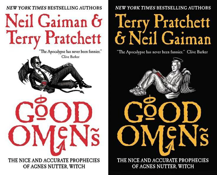 Terry Pratchett and Neil Gaiman