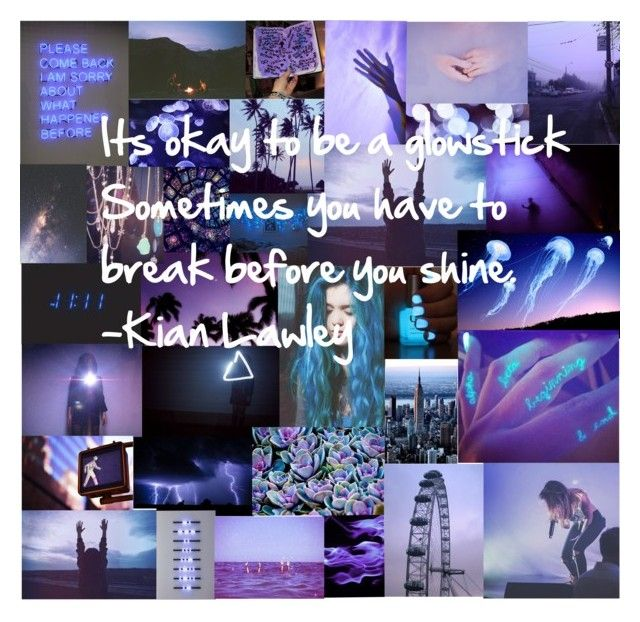 Kian Lawley Quote by youdoyouham on Polyvore featuring polyvore and art