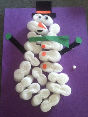 Crafts With Packing Peanuts