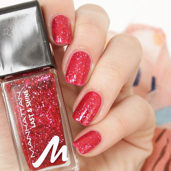 17 Best Ideas About Red Glitter Nails On Pinterest