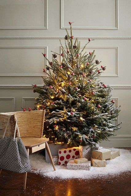8 Best Unusual Christmas Trees Images On Pinterest - Christmas Decorating Ideas Without A Tree