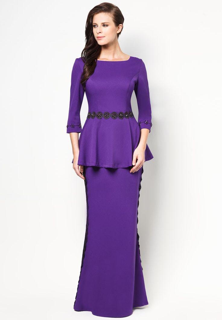 Buy Jovian Mandagie for Zalora Chantilly Cosette Baju Kurung | ZALORA Malaysia