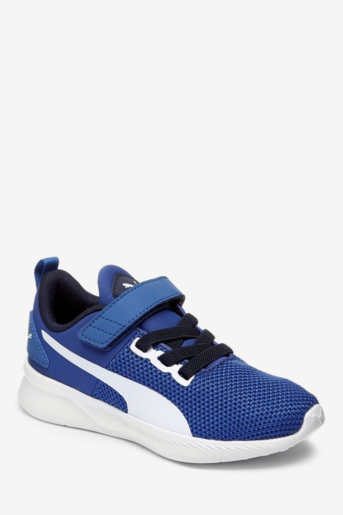 Puma Fly Runner Youth Velcro Trainer