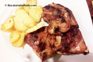 TERASA NORA, TIMISOARA, ROMANIA - Coaste de porc.