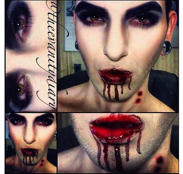 69 best Vampire Makeup images on Pinterest | Costumes, Halloween ...