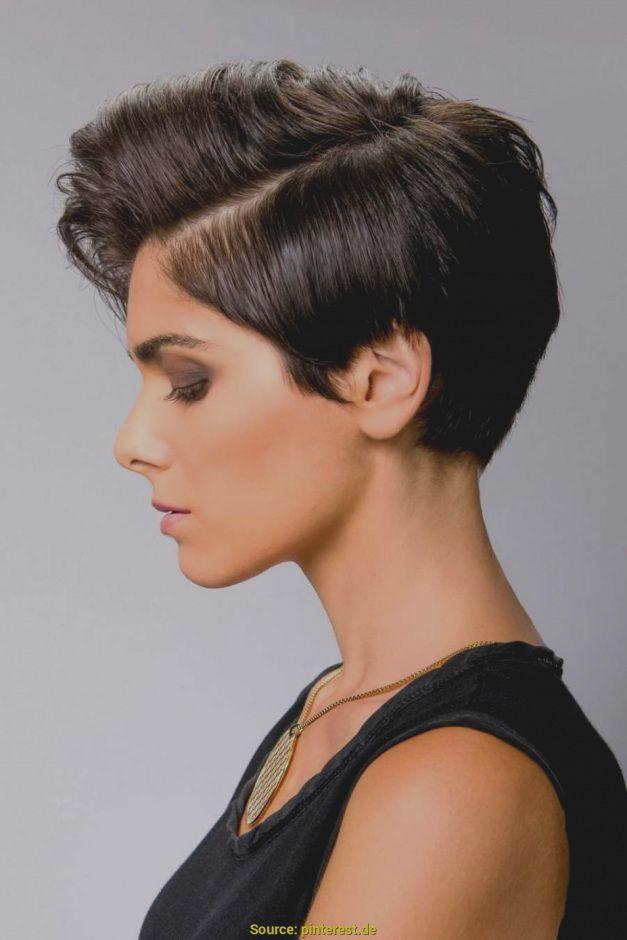 Trendy Kurzhaarfrisuren Frauen Dunkle Haare