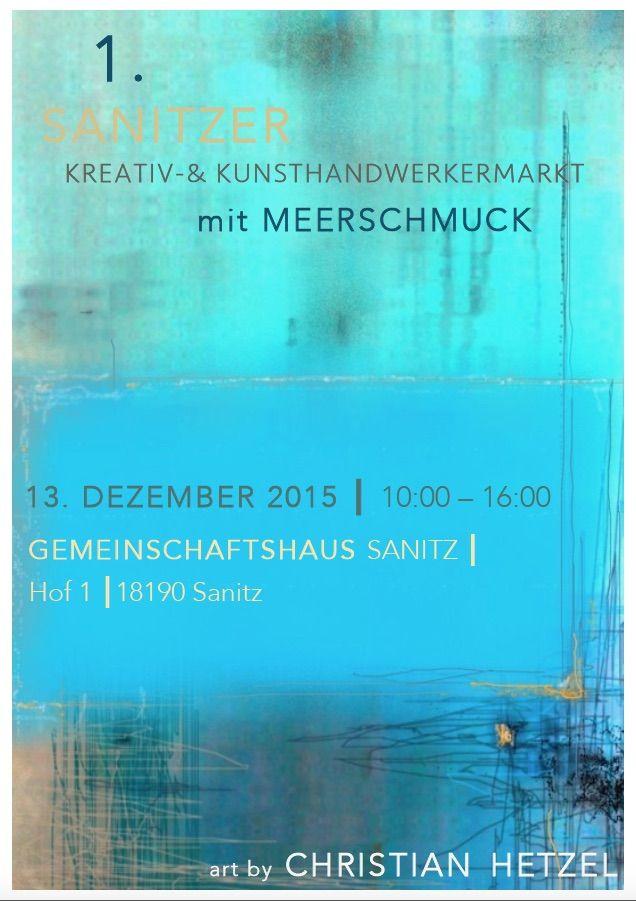 MeerSchmuck auf dem Kreativ- und Kunsthandwerkermarkt am 13. Dezember 2015 in Sanitz