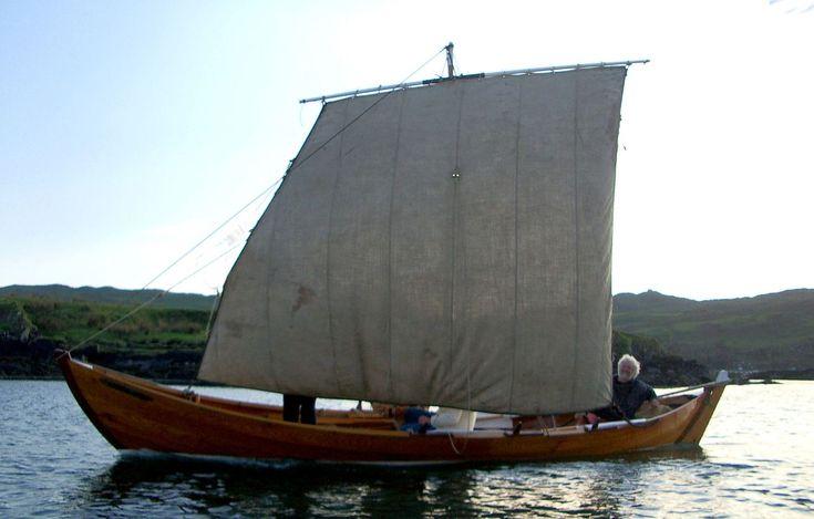 ian best | Fair Isle yoal | Sail & oar. wooden boat | Pinterest ...