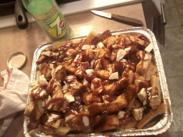 #Poutine #Cake yes, that's right, i made a cake that looks just like a poutine <3
