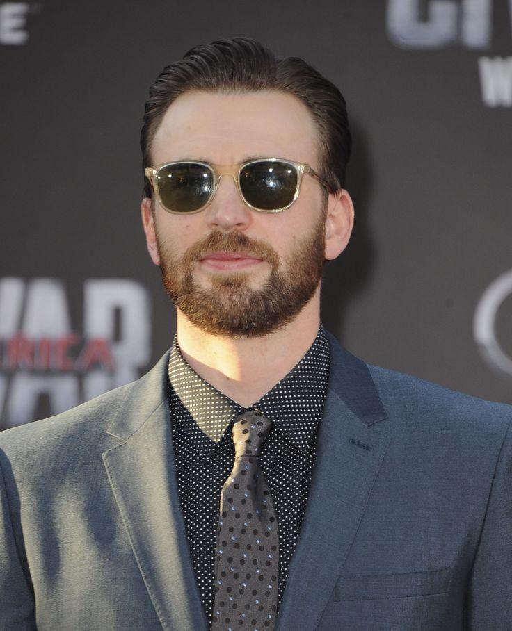 Chris Evans at Captain America: Civil War Premiere