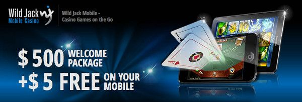 Win exclusive offers at wild jack mobile casino by playing online casino games and hit the jackpot!