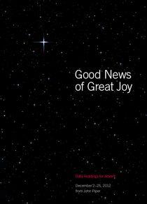 Good News of Great Joy- FREE eBook from John Piper