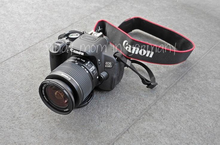DSLR, Canon, Canon 650d, camera