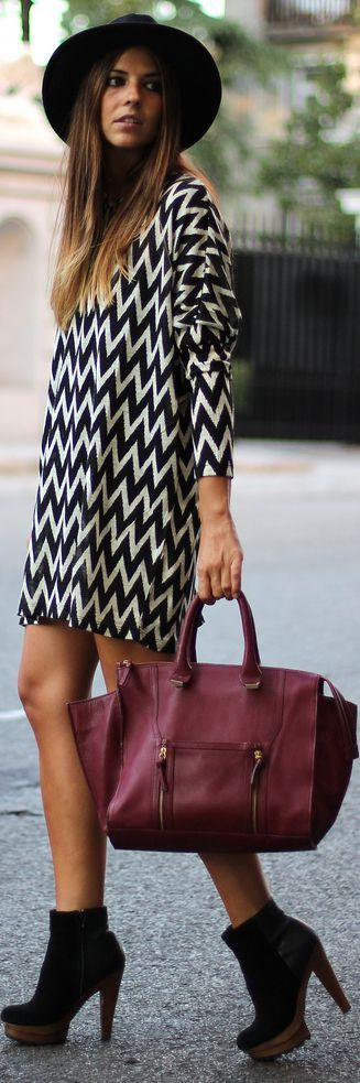 Zig zag                      #fashion #styles #outfits