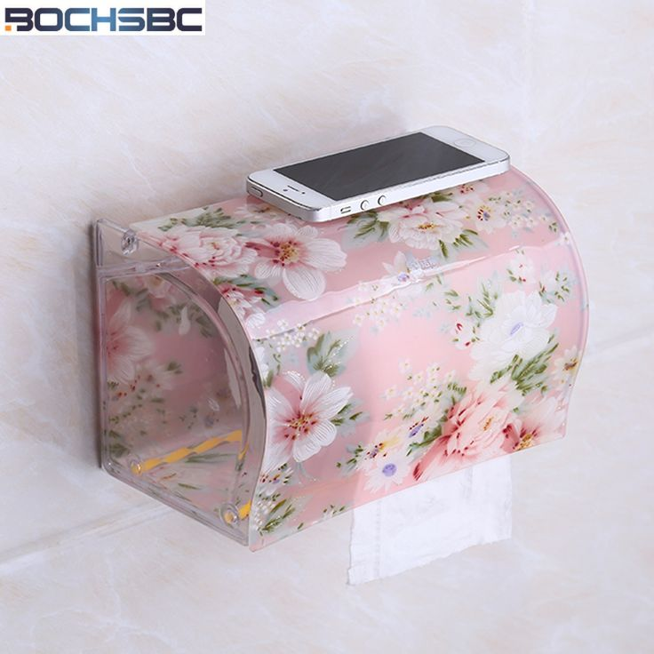 Cheap waterproof toilet roll holder, Buy Quality toilet paper holder directly from China toilet roll holder Suppliers: BOCHSBC Toilet Paper Holder Plastic Acrylic Waterproof Toilet Roll Holder Box Free Stiletto Creative Door Paper Towel Box