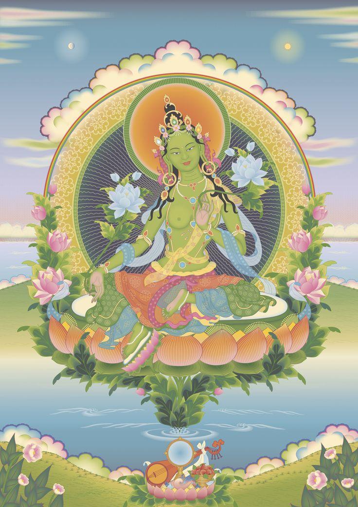 Green Tara 3: 17 Best Images About Buddhas & Bodhisattvas On Pinterest