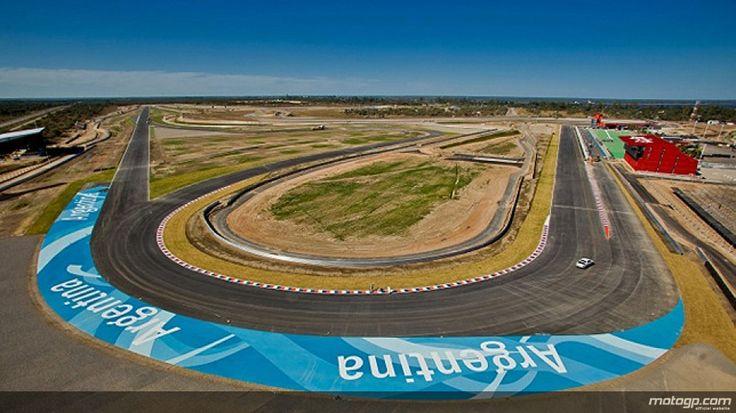 Nueva MotoGP Circuito de Argentina en Santiago del Estero.