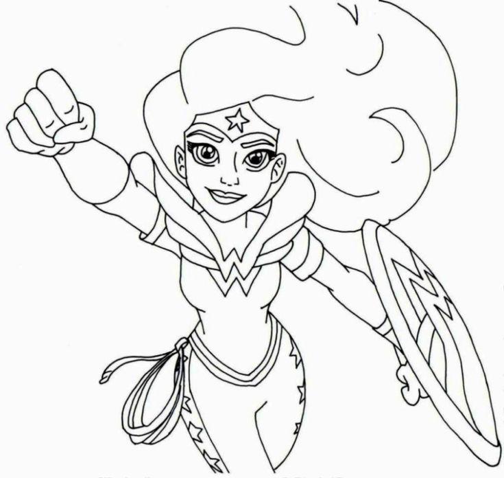 wonderwoman superhelden malvorlagen zum drucken und