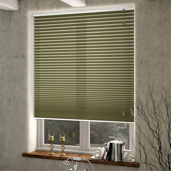 Duolight Moss Green Thermal Blind from Blinds 2go