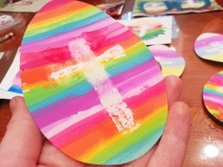 Easy Easter Craft for Kids (includes printable template)