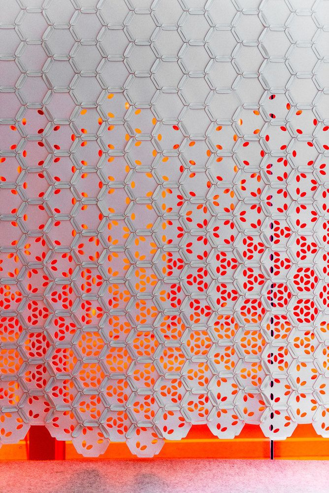 """Link"" by Gensler and FilzFelt Brings Color and Texture to Screens and Wallcoverings,Courtesy of FilzFelt"