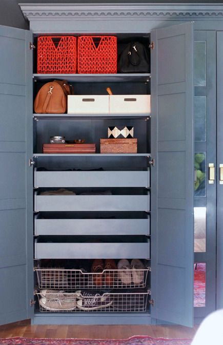 An Ode to the Pax - 6 steps for transforming IKEA's modular closet system into a custom wardrobe and vanity.