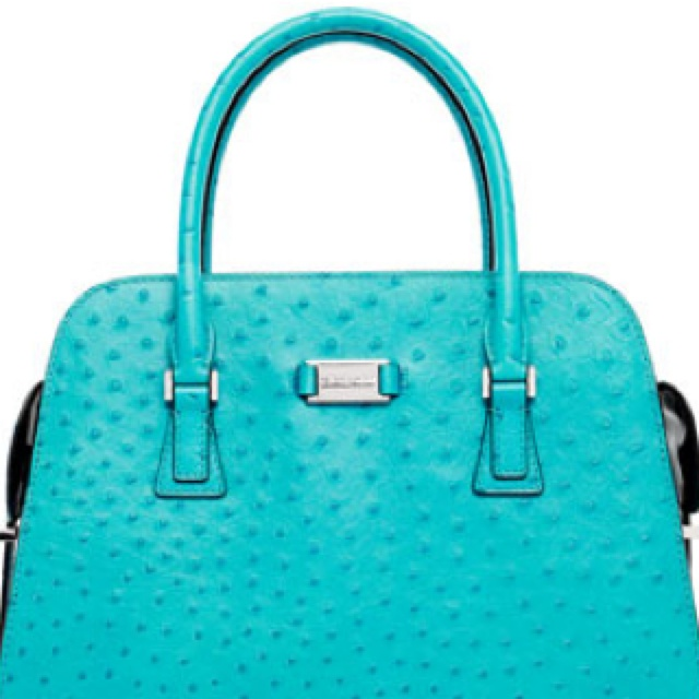 In love with the Tiffany Blue purse