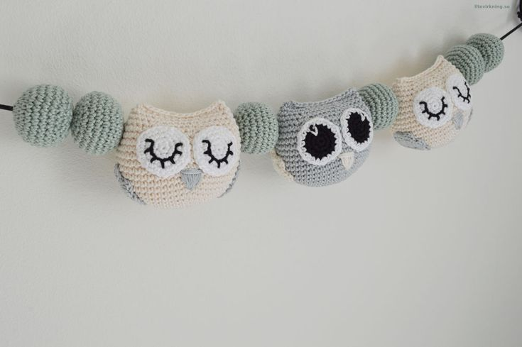 Stroller Pendant - Owls