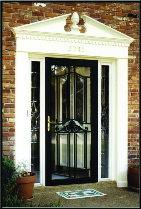 strorm doors | Security Storm Doors with Screens