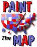 Paint the Map Game