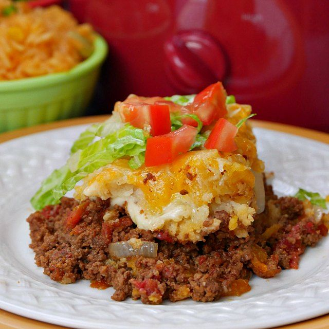 I love tamales and this recipe for Tamale Pie looks so good!