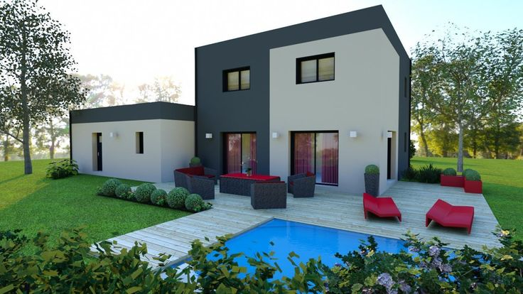 Made with our 3D software, My Sketcher 3D Exterior design, HD - Logiciel De Maison 3d